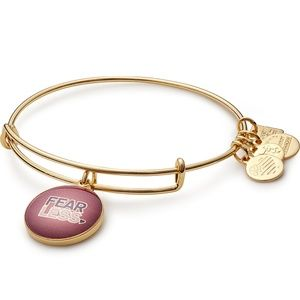 Alex and Ani Fear Less Charm Bangle NWT